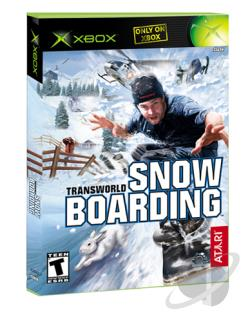TransWorld Snowboarding XB Cover Art