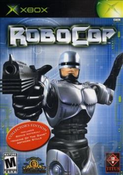 RoboCop XB Cover Art