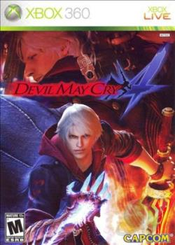 Devil May Cry 4 XB360 Cover Art