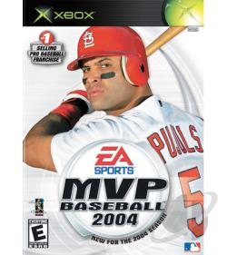 MVP Baseball 2004 XB Cover Art
