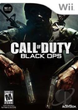 Call of Duty: Black Ops WII Cover Art