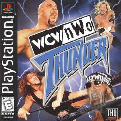 Wcw/Nwo Thunder PS Cover Art