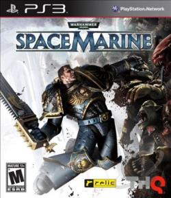 Warhammer 40,000: Space Marine PS3 Cover Art