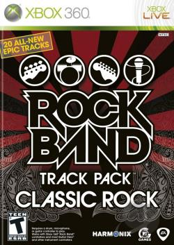 Rock Band Track Pack: Classic Rock XB360 Cover Art