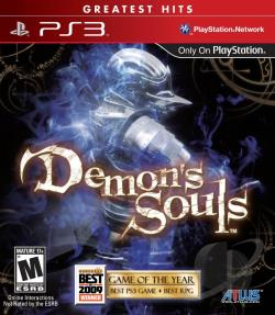 Demon's Souls PS3 Cover Art