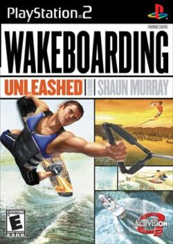 Wakeboarding Unleashed Featuring Shaun Murray PS2 Cover Art