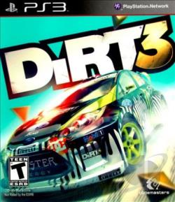Dirt 3 PS3 Cover Art
