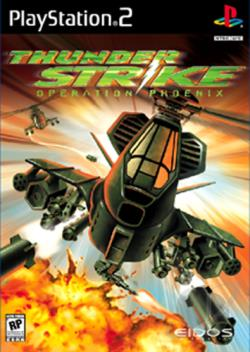 Thunderstrike: Operation Phoenix PS2 Cover Art