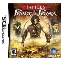 Battles of Prince of Persia NDS Cover Art