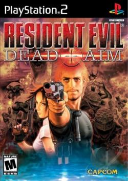 Resident Evil: Dead Aim PS2 Cover Art