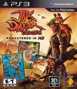 Jak and Daxter Collection PS3 Cover Art