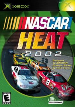 NASCAR Heat 2002 XB Cover Art