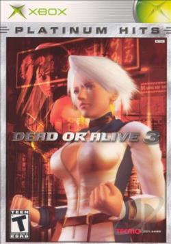 Dead Or Alive 3 XB Cover Art