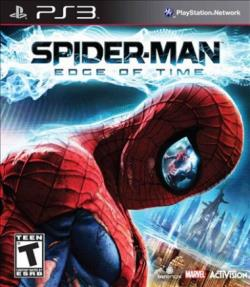 Spider-Man: Edge of Time PS3 Cover Art