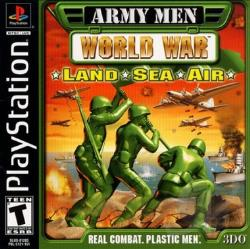 Army Men: World War Land, Sea, Air PS Cover Art