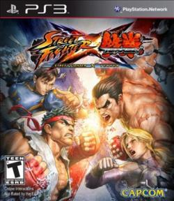 Street Fighter X Tekken PS3 Cover Art