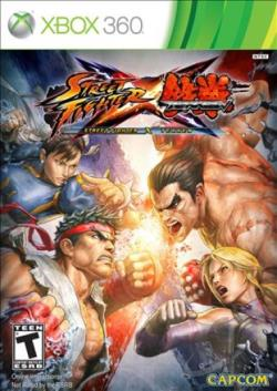 Street Fighter X Tekken XB360 Cover Art