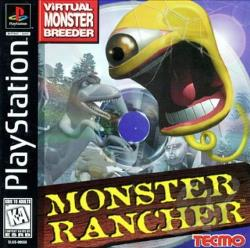 Monster Rancher PS Cover Art