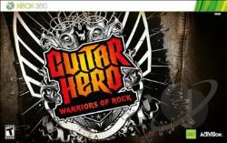Guitar Hero: Warriors of Rock XB360 Cover Art