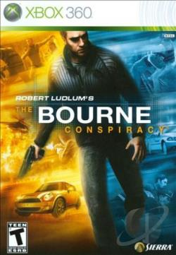 Robert Ludlum's The Bourne Conspiracy XB360 Cover Art