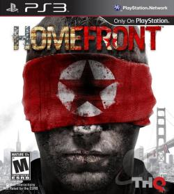 Homefront PS3 Cover Art