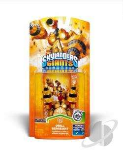 Skylanders Giants-Drill Sergeant Cover Art