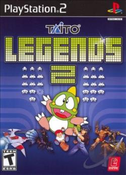 Taito Legends 2 PS2 Cover Art