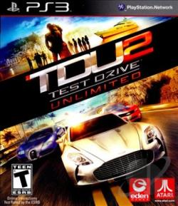 Test Drive Unlimited 2 PS3 Cover Art