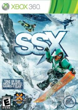 SSX XB360 Cover Art