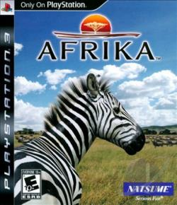 Afrika PS3 Cover Art