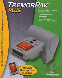 Tremor Pack Plu N64 Cover Art