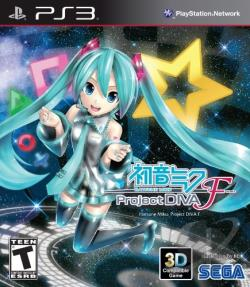 Hatsune Miku: Project Diva F PS3 Cover Art