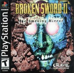 Broken Sword II: The Smoking Mirror PS Cover Art