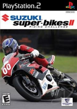 Suzuki Super-bikes II: Riding Challenge PS2 Cover Art