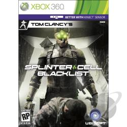 Tom Clancy's Splinter Cell: Blacklist XB360 Cover Art