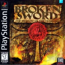 Broken Sword: Shadow of the Templars PS Cover Art