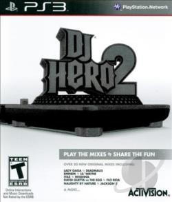 DJ Hero 2 PS3 Cover Art