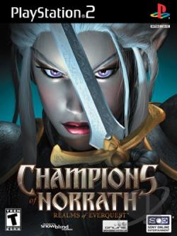 Champions of Norrath: Realms of EverQuest PS2 Cover Art