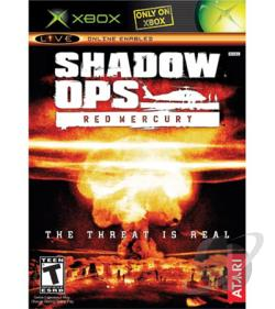 Shadow Ops: Red Mercury XB Cover Art