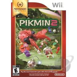 Pikmin 2 WII Cover Art