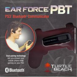 Ear Force PBT PS3 Bluetooth Communicator PS3 Cover Art