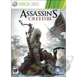 Assassin's Creed 3 XB360 Cover Art