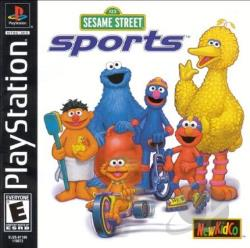 Sesame Street Sports PS Cover Art