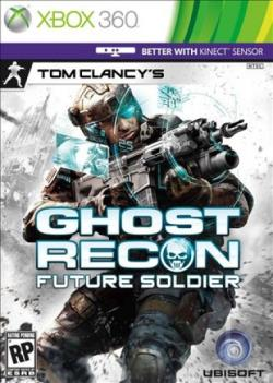 Tom Clancy's Ghost Recon: Future Soldier XB360 Cover Art