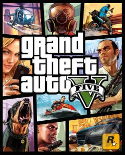 Grand Theft Auto V PS3 Cover Art