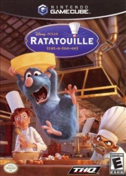 Ratatouille GQ Cover Art