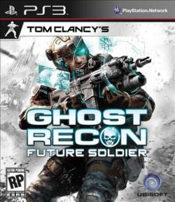 Tom Clancy's Ghost Recon: Future Soldier PS3 Cover Art