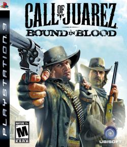 Call of Juarez: Bound in Blood PS3 Cover Art