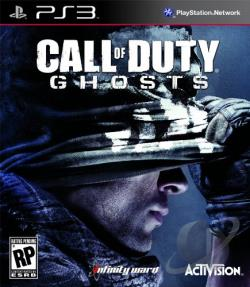 Call of Duty: Ghosts PS3 Cover Art