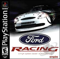 Ford Racing PS Cover Art